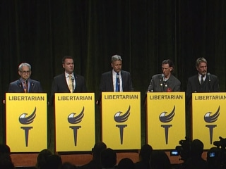 Libertarian Candidates Explain Difference Between Them and Conservatives