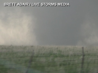 Giant Tornado Touches Down in Kansas