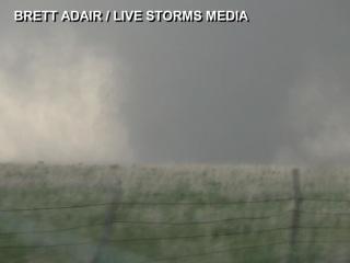 Giant Tornado Touches Down in Kansas