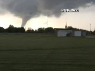 Tornado Touches Down in Kansas