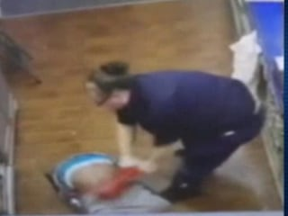 Store Clerks Wrestle Robbery Suspect