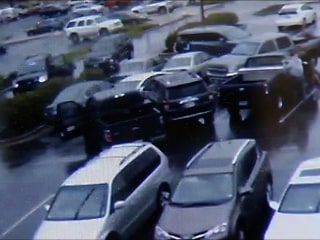 Watch: Police Corner Shooting Suspect in Parking Lot