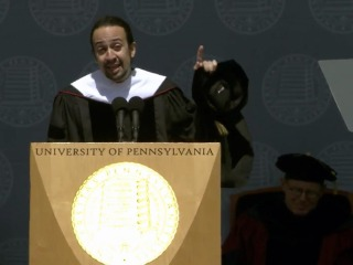 'Your Stories Are Essential': Lin-Manuel Miranda to UPenn Grads
