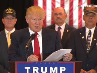 Trump details $5.6 million donations to vets