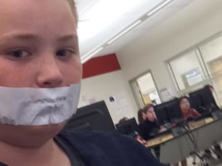 Utah Student Told to Duct Tape Mouth for Talking