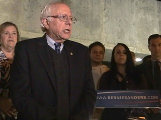 Bernie Sanders vows to fight on after Indiana victory