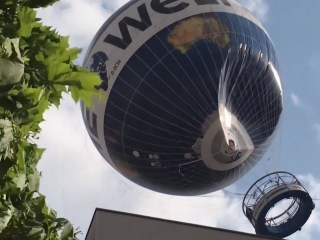 Berlin Passenger Balloon Emergency in High Winds