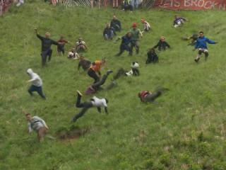 Wacky Races: Watch U.K. Cheese Rolling Mayhem