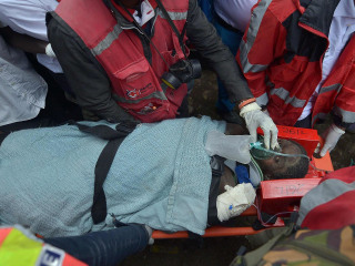 Woman Rescued From Collapsed Building After Being Buried for 6 Days