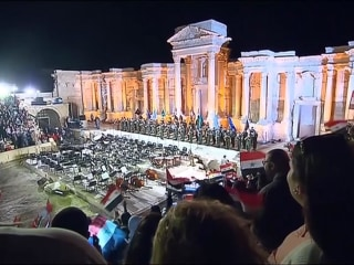 Patriotic Concert Lights Up Ancient Syrian City