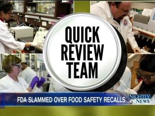 FDA Inspector General: Agency Lags in Ordering Emergency Food Recalls