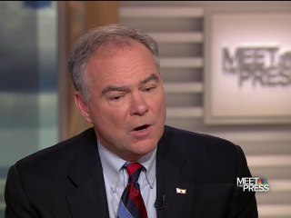 Sen. Kaine on VP Prospect: I've Been a Leader and a Follower
