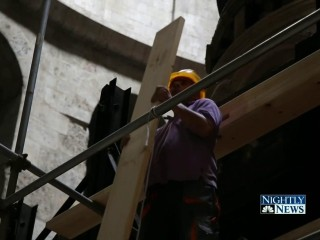 Christ's Tomb Undergoes Renovation 200 Years in Making