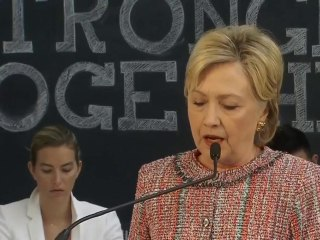 Clinton makes statement on Benghazi report