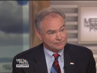 Tim Kaine on Commander-in-Chief Qualifications