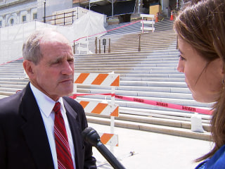 Senator Says 'Negotiating Going on' Over Gun Legislation