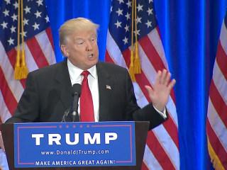 Trump Labels Clinton 'World Class Liar' During Speech