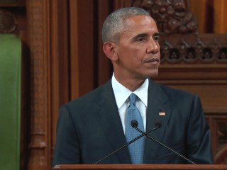 Obama: World Benefits From Strong U.S.-Canada Ties