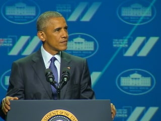 Obama: 'We're Still Boxed in by Gender Stereotypes'