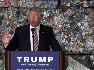 Donald Trump Gives Speech on Trade