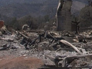 Residents Return Home After Erskine Fire