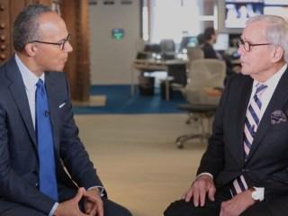 Tom Brokaw Goes Deep on Cancer Treatment, Biden's Moonshot