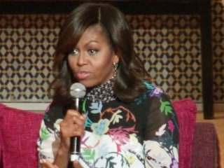 Michelle Obama Promotes Girls' Education in Morocco