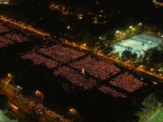Thousands Attend Tiananmen Vigil in Hong Kong's Victoria Park
