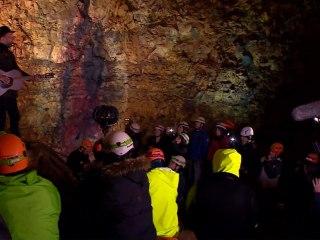 Music Fans Attend Concert Inside Icelandic Volcano