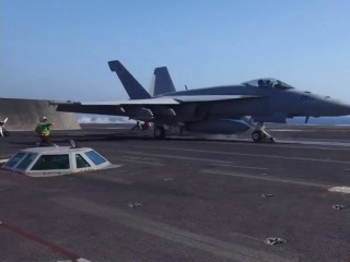 Aboard the USS Eisenhower: Inside the U.S. Fight Against ISIS
