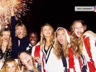 How Taylor Swift, Miley Cyrus and Others Marked July 4