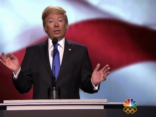 Jimmy Fallon as Donald Trump Returns to 'Tonight Show'