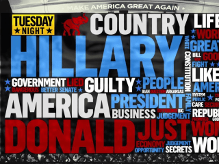 Word Cloud Shows 'Hillary' Is Most-Used Term at RNC