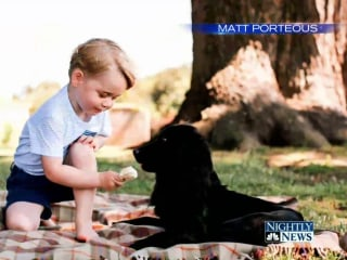He's Three! Palace Releases Prince George's Birthday Pictures