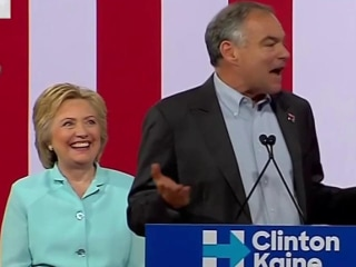 Clinton's Vice President Pick Tim Kaine: 'When We're Together We're Stronger'