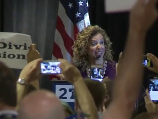 Mitchell: Wasserman-Schultz booed off the stage