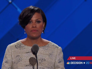Watch Baltimore's Mayor (Forget to)Gavel In DNC