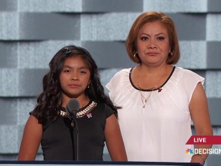 'On Most Days I'm Scared': Young Immigrant Karla Ortiz Speaks at Convention