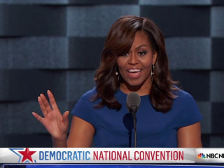 Michelle Obama: Issues President Faces Can't Be Boiled Down to 140 Characters