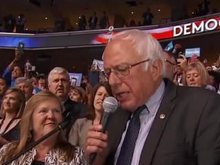 Bernie Sanders Nominates Hillary Clinton