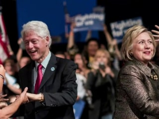 Bill Clinton Makes Political History in Role Reversal at DNC