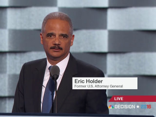 Holder: 'Donald, Did You Hear Me? Already Great Nation'