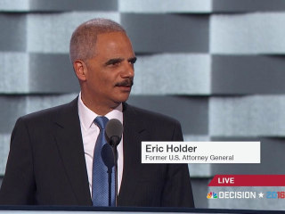 Eric Holder Speaks Out on Police Reform