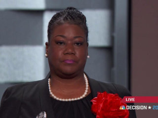 Sybrina Fulton Speaks in Memory of Son Trayvon Martin