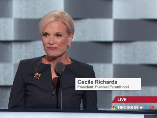 Planned Parenthood President Supports Hillary Clinton