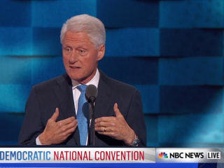 Bill Clinton Shares Story of First Meeting Hillary