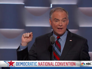 Tim Kaine Accepts Democratic Vice Presidential Nomination