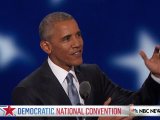 Obama: Our Power Comes From Shaping Our Own Destiny