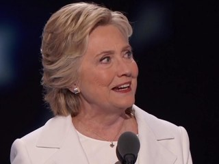 Hillary Clinton Officially Accepts Presidential Nomination