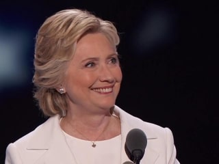 Clinton: I Love Talking About Plans